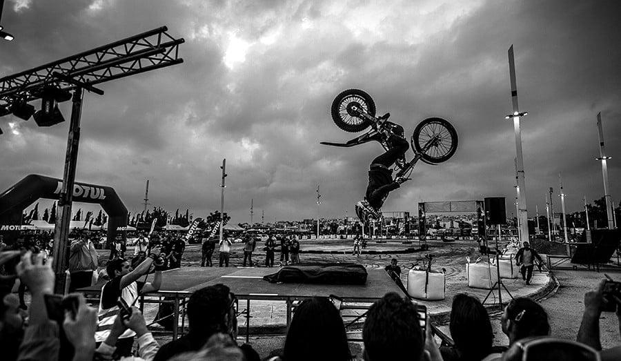 back flip motor festival
